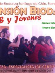 Niños y Jóvenes (Extensión Biodanza) –  1er módulo: Septiembre 22, 23 y 24