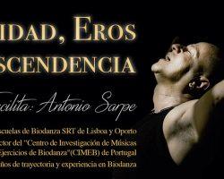 Taller Identidad, Eros y Trascendencia con Antonio Sarpe (Portugal)