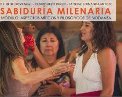 Sabiduría milenaria: Módulo Aspectos Míticos y filosóficos de Biodanza